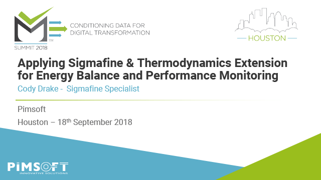 Applying Sigmafine & Thermodynamics Extension for Energy Balance & Performance Monitoring