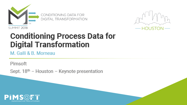 Conditioning Process Data for Digital Transformation