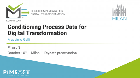 Conditioning Process Data for Digital Transformation – Milan
