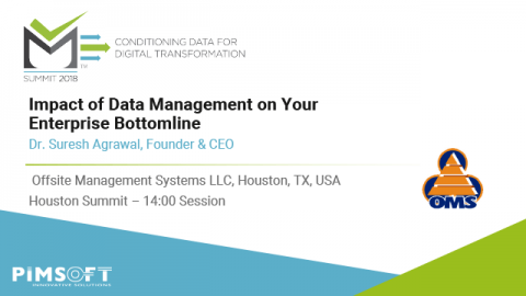 Impact of Data Management on your Enterprise Bottomline – OMS