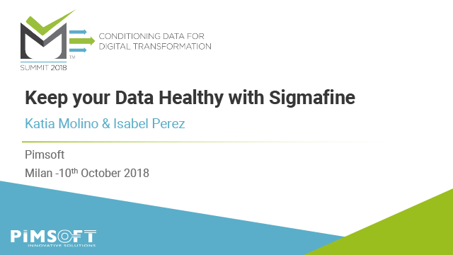 Keeping Your Data Healthy with Sigmafine