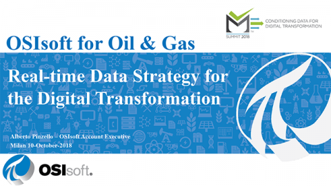 Real Time Data Strategy for the Digital Transformation – OSIsoft