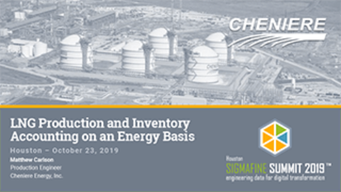 Cheniere: LNG Production and Inventory Accounting on an Energy Basis