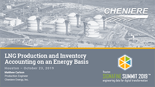 Cheniere - LNG Production and Inventory Accounting on an Energy Basis