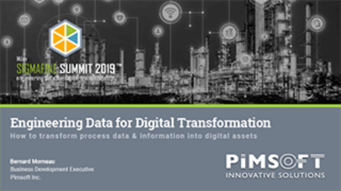 Engineering Data for Digital Transformation – Milan