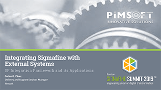 Integrating Sigmafine with External Systems