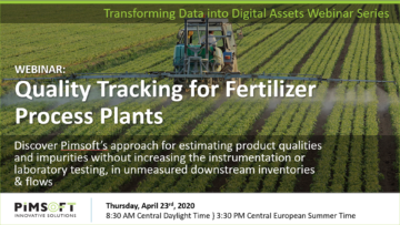Quality Tracking for Fertilizer Process Plants