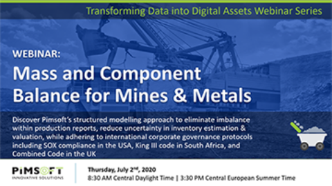 WEBINAR: Mass and Component Balance for Mines & Metals
