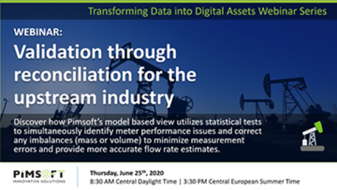 WEBINAR: Validation Through Reconciliation for the Upstream Industry
