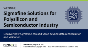 Sigmafine Solutions for Polysilicon / Semiconductors Industry Webinar @ Online